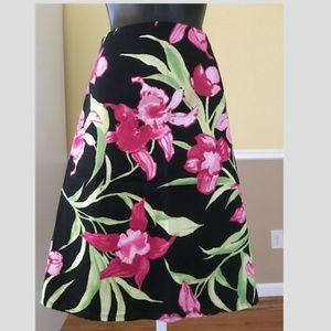 Dresses & Skirts - Pretty Boston Proper Floral Skirt Size Small